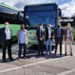 Tua: presentati sei nuovi autobus
