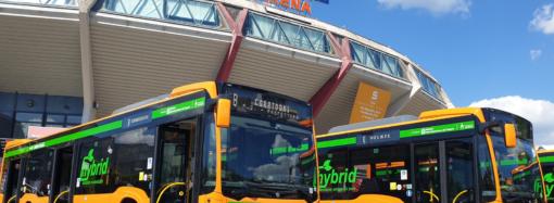 Varese: presentati 11 nuovi bus ibridi