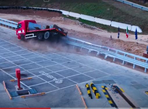 Anas: nuove barriere bordo laterali, superati i crash test