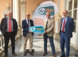 Genova: Amt, presentato il nuovo logo