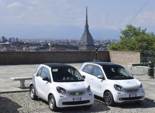 Torino: Car sharing approvate le linee guida del nuovo bando