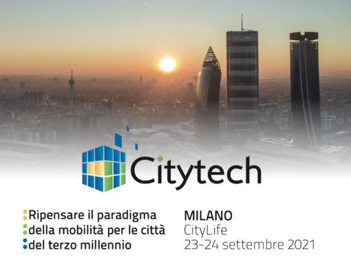 Citytech2021, la mobilità del futuro in scena a CityLife di Milano